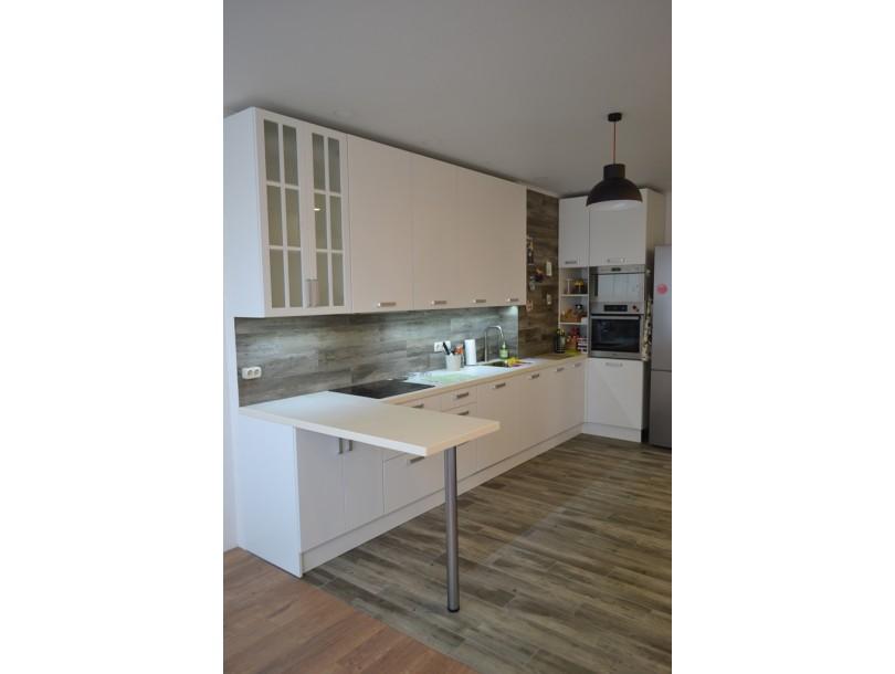 Белая кухня скандинавский стиль на заказ