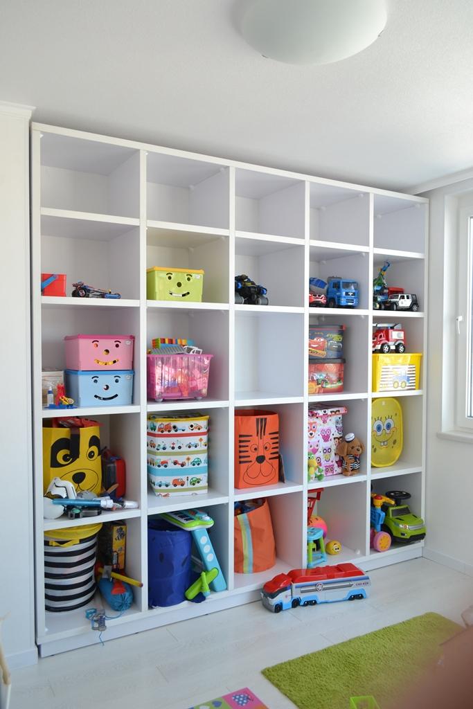 Стелаж для іграшок в дитячу на заказ