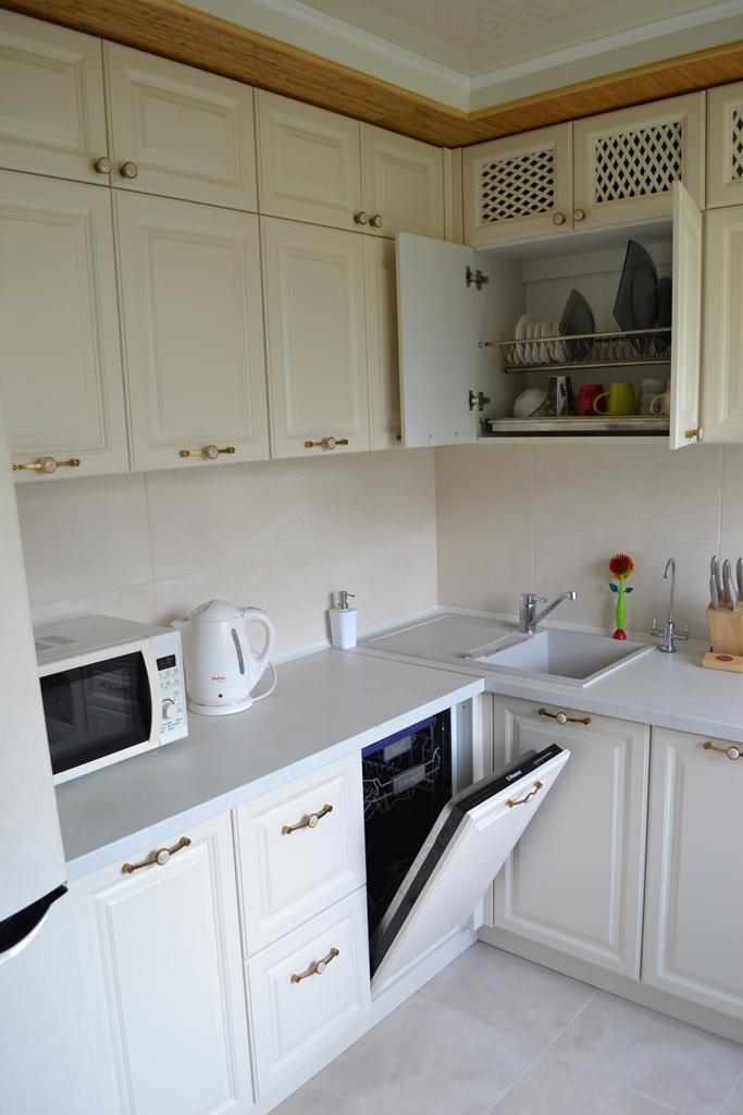 Кремова кухня в стилі прованс на заказ