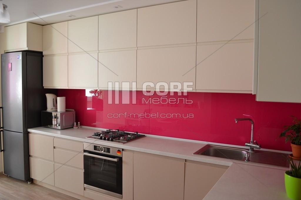 Пенали на кухню із використанням активного кольору на заказ