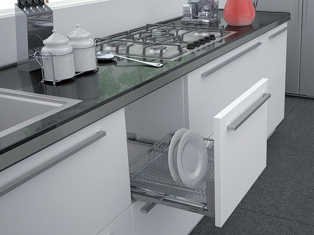 Кухонная мебель с фурнитурой BLUM