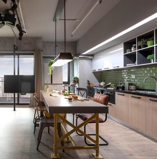 Купить кухню в стиле Loft