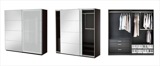шкафы купе IKEA