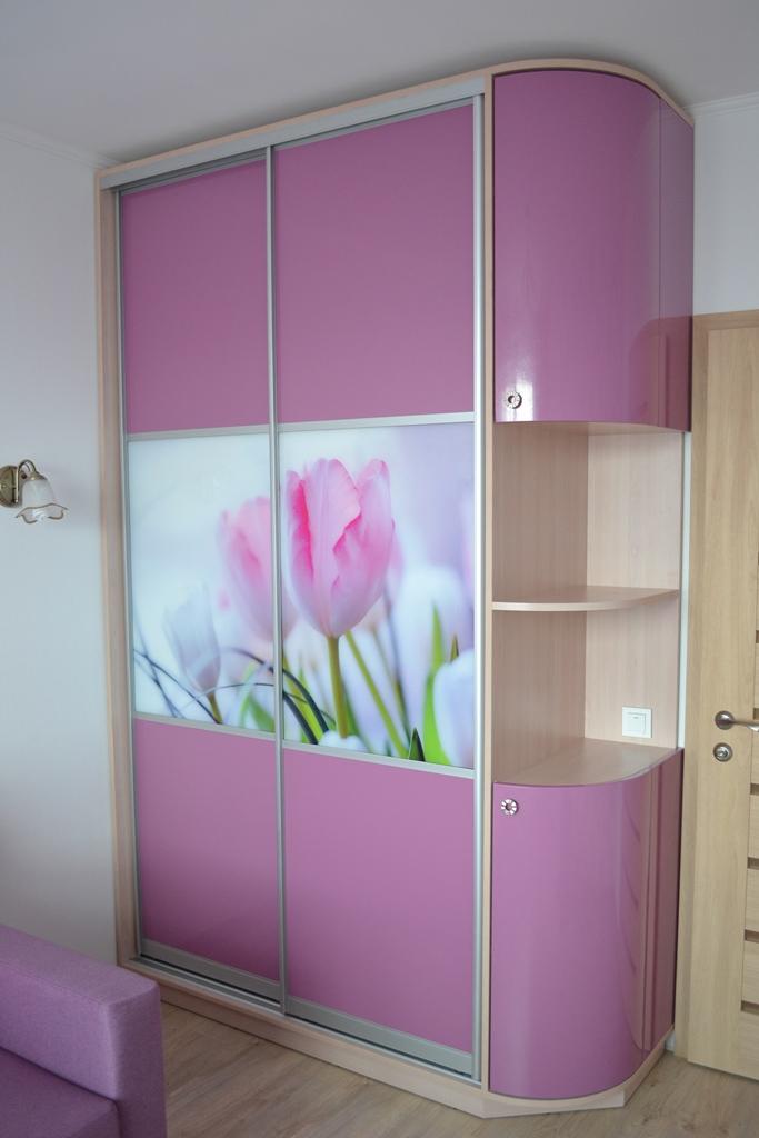 Розовая детская комната на заказ